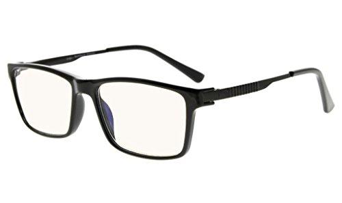 301a178c0bb Eyekepper Noline Bifocal Progressive Multifocus Glasses 3 Levels Vision Reading  Glasses Amber Tinted Blue Light Blocking