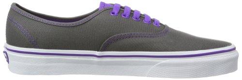 Vans Purple Low Unisex Top Erwachsene Sneaker Electric Authentic Zinn Grau für frwBgfq
