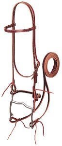 Weaver Pony Horse Leather Bridle Western Show Tack
