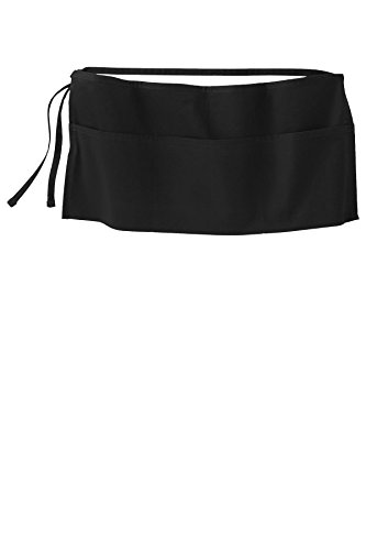 Joe's USA (tm) Easy Care 3-Pocket Waist Aprons with Stain Release ()