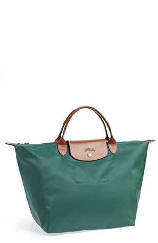 Longchamp Le Pliage Top Handle Bag, Medium, Cedar - Longchamp Green