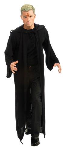 Rubie's Costume Men's Priest Movie Hooded Robe, Black, Standard Costume ()