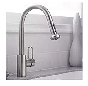 Hansgrohe Metro E High Arc Kitchen Faucet with 2 Function