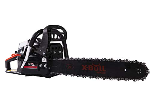 X-BULL 20-Inch Gas Powered Chain Saw 62cc