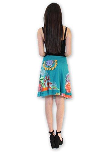 Unisex Lounging Pantalones de Tha? lande Azul