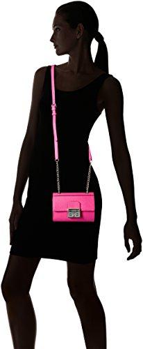 GUESS Mini Crossbody Flap Vg Martine Pink Hot 0H0qvZgw