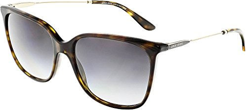 Giorgio Armani AR8080 50268G Havana AR8080 Square Sunglasses Lens Category 3 Si -