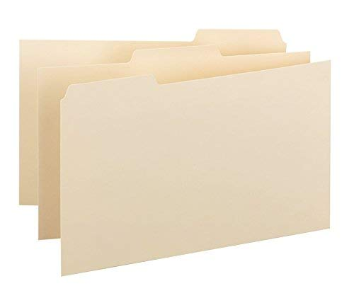 (Smead Card Guide, Plain 1/3-Cut Tab (Blank), 5