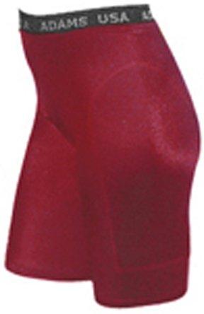 Adams Women's Lightweight Support Sliding Shorts, Cardinal, X-Small