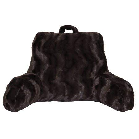 Better Homes and Gardens Faux Fur Backrest, Chocolate