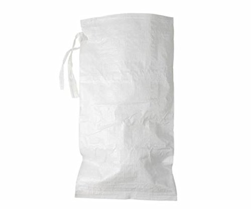 1000 Pack - Empty White Poly Sandbags by Sandbag Warehouse (Image #1)