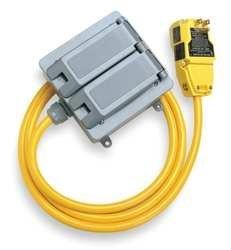Power First 5YL44 GFCI Quad Box, 15 A