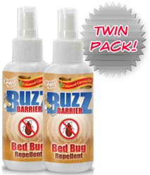Bed Bug Spray (6 Bottles) - All Natural, Safe Highly Effective Formula - Protect Your Family From Bed Bugs & Dust Mites