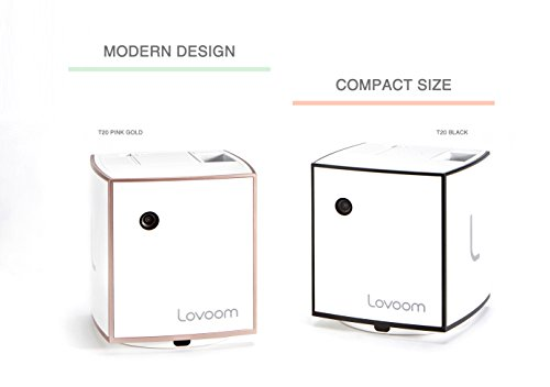 LOVOOM Pet Camera: Kibble Tossing Play, Wi-Fi Kibble Cam with Pan Zoom Two Way Audio Remote Control for Dogs and Cats (Black) by LOVOOM (Image #5)
