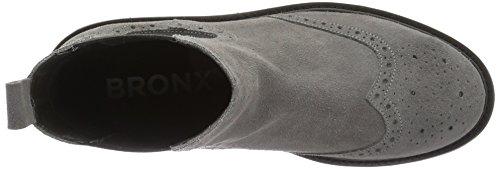 Bronx Brifka-chunkyx, Stivali Bassi con Imbottitura Leggera Donna Grau (08 Grey)
