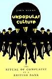 Unpopular Culture 9780226878119