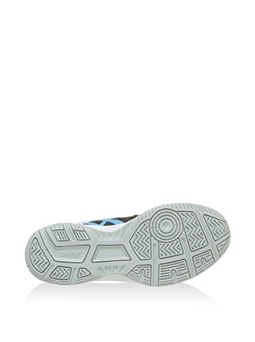 gamepoint bleu Asics Fitness De Gel Chaussures Noir blanc Femme 566n7P0O