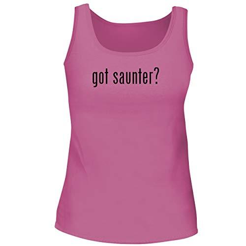 BH Cool Designs got saunter? - Cute Women's Graphic Tank Top