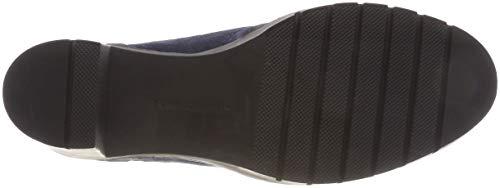 Rangers tommy Boot Bottes Hilfiger Bleu Modern Navy 406 Heeled Tommy Hiking Femme qzFxnw
