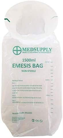Emesis Vomit Bags 1500ml (50 Bags)