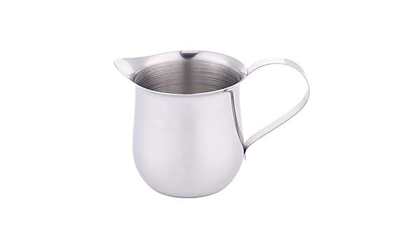 Leche taza drum-shape taza taza de leche para espuma de leche ...