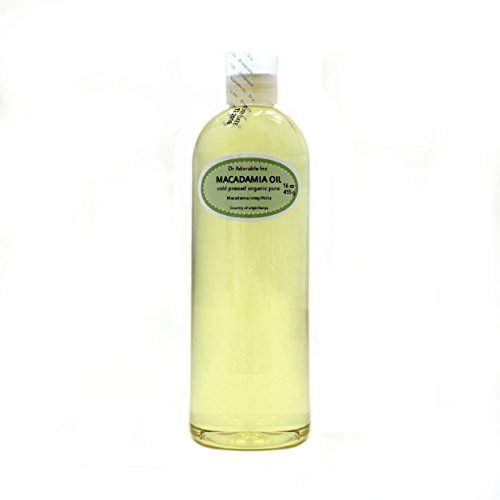 Macadamia Nut Organic Oil Cold Pressed 16 Oz