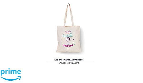 Bubble Gum - Tote Bag Naturel La Plus Gentille Des Maestresia ...