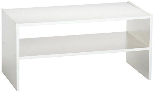 (ClosetMaid 8993 Stackable 24-Inch Wide Horizontal Organizer, White)