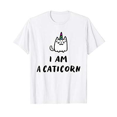 Cat shirt Unicorn Cat I'm a Caticorn T-Shirt