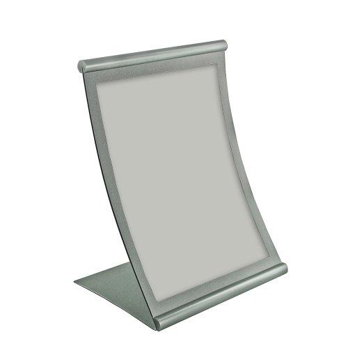 Azar Displays 300880 8.5-Inch W by 11-Inch H Curved Metal...
