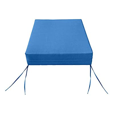 MH GLOBAL Knife Edge Large Deep Seat + Back Slip Cover Only Outdoor Polyester 26x30x6 AD102 : Garden & Outdoor