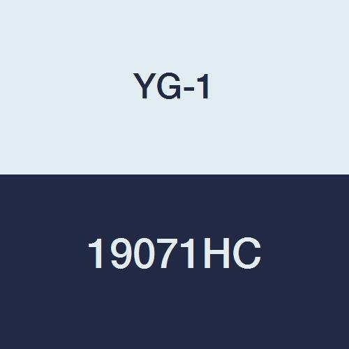 3 Flute YG-1 28584TC Carbide Alu-Power Square End Mill 2-1//2 Length 3//8 TiCN Finish Regular Length 45 Degree Helix