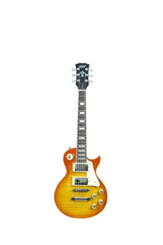 ivy IL-SP 300 HB Les Paul Solid-Body Electric Guitar, Honey Burst