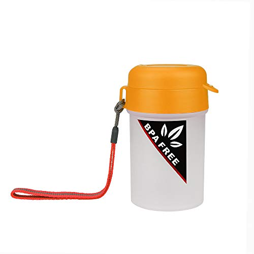 Yu2d  Portable Sports Water Bottle Plastic Water Cup Creative Kettle Drink Travel -