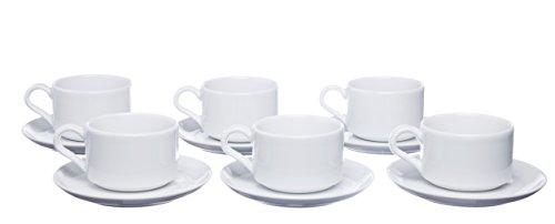 Porcelain 12 Piece Tea Set - 9