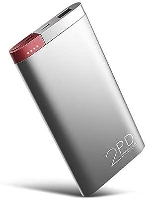 Rock PD Cargador Portátil 20000mAh USB C Power Bank, 18W USB ...