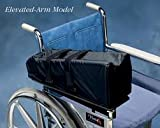 Wheelchair Mobile Arm Support Elevated, Left side or Right Side