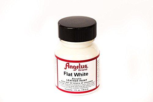Angelus White Acrylic Leather Paint