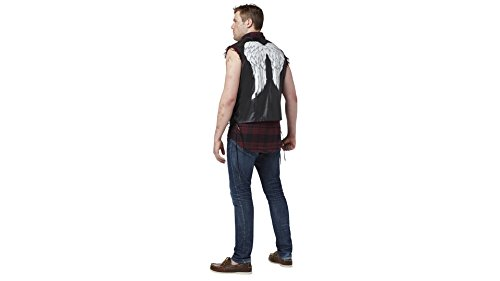 [The Walking Dead Daryl Dixon Adult Mens Vest] (Spirit Walker Costume)