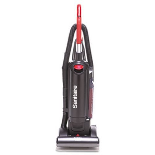 Sanitaire SC5713B Commercial Quite Upright Bagged Vacuum Cleaner with Tools and 10 Amp Motor, 13