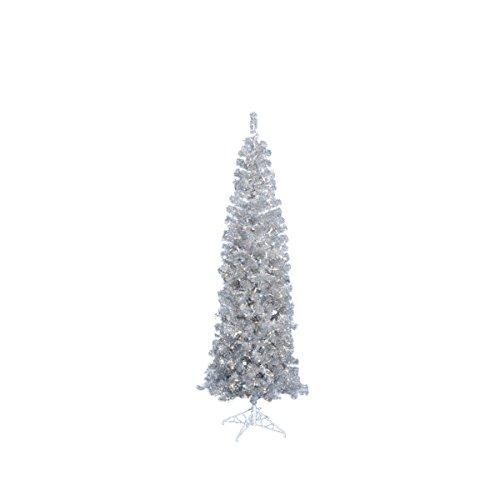 Silver Prelit Christmas Tree: Amazon.com