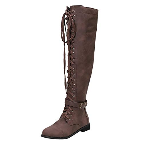 Seven Knights Shane Costumes - TIFENNY Vintage Long Boots for Women