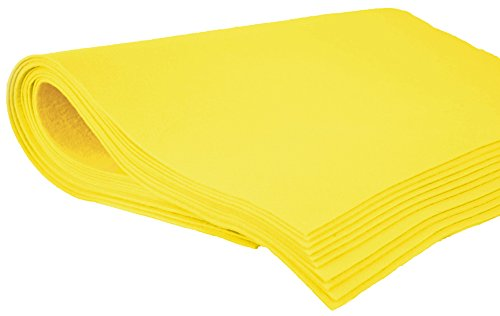 Shammy Cloth Chamois Absorbent Cleaning Towel 20 x 27 For Home Car Truck RV - Yellow (Chammy Cloth)