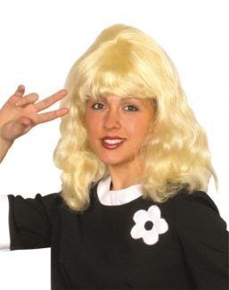 Ladies 70s Hairstyle Blonde Wig by Pams (70s Womens Hairstyles)