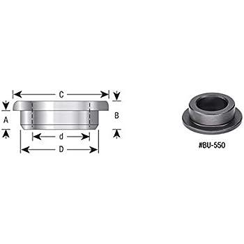 67230 High Precision Industrial Steel Spacer Amana Tool Sleeve Bushings 1 Dia x 1//4 HE