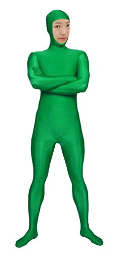 VSVO Spandex Open Face Full Bodysuit Zentai Suit