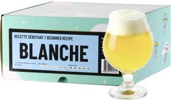 Saveur Cerveza – Receta de Cerveza Blanca – Brusca tu Cerveza witbier casa a Partir de extracto de Malta en Polvo – Recarga Beer Kit de iniciación