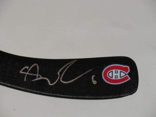Shea Weber Signed Hockey Stick Montreal Canadiens Autographed Proof Autographed NHL Sticks