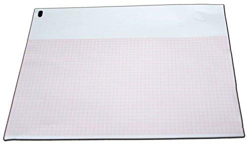 ECG/EKG Paper for Burdick 7868, 7966 - 216mm X 280mm X 200 Sheets (10) by Quality Chart Paper (Image #1)