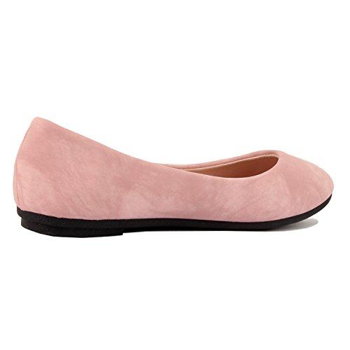 On Ballerina West BALLET Slip Blvd Womens Slippers Flats Nubuck Mauve Shoes 6qw0xP6Xr